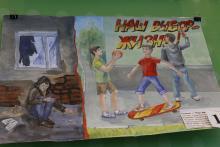 Детские рисунки о вреде наркотиков