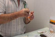 Процедура тестирования на содержание наркотиков в слюне